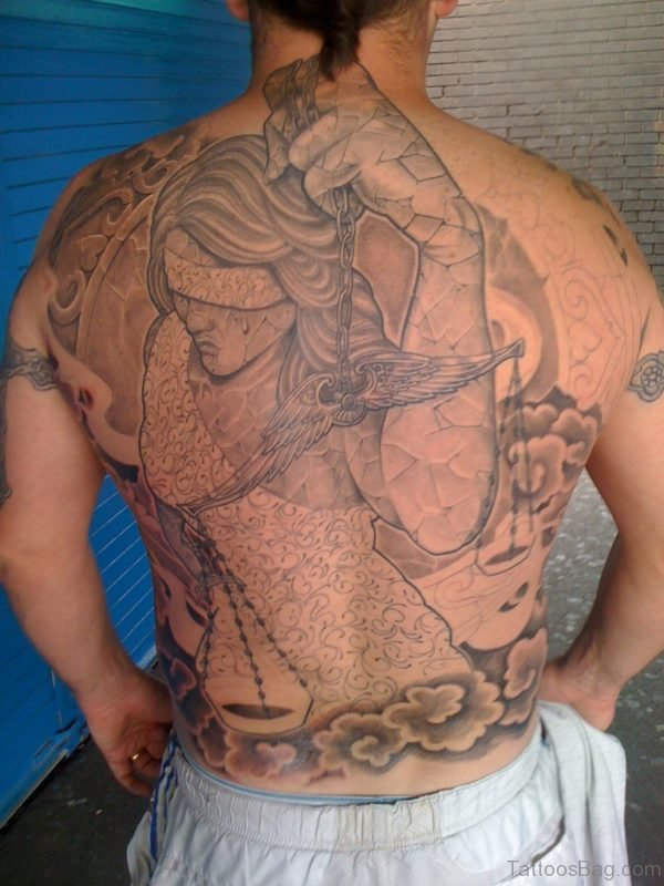 Awesome Back Tattoo