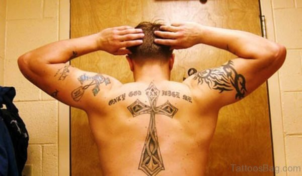 Awesome Cross Tattoo