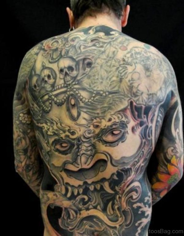 Awesome Devil Tattoo