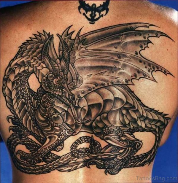 Awesome Dragon Tattoo