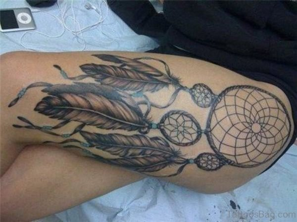 Awesome Dreamcatcher Tattoo