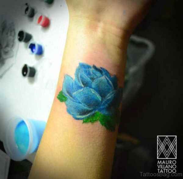 Awesome Flower Tattoo Design