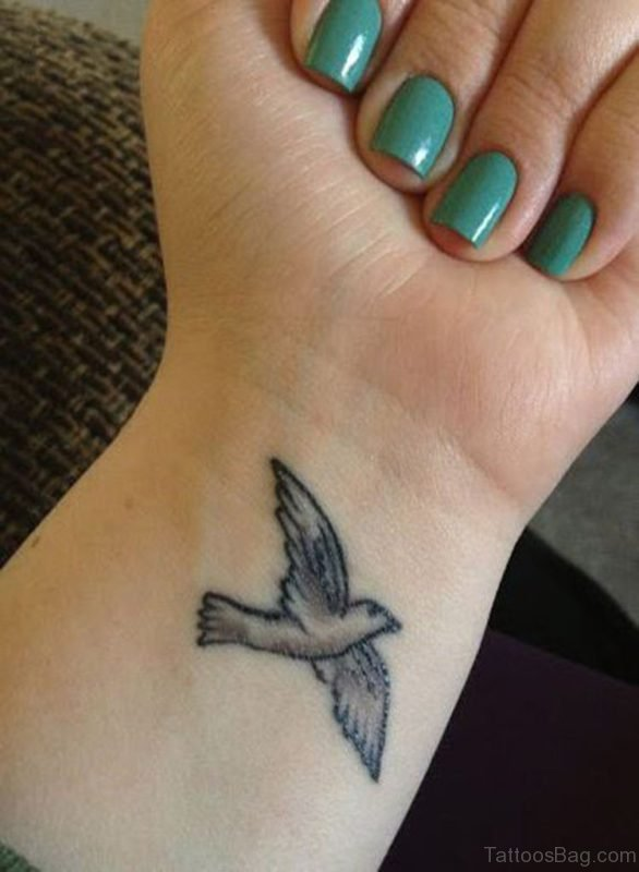 Awesome Flying Birds Tattoo