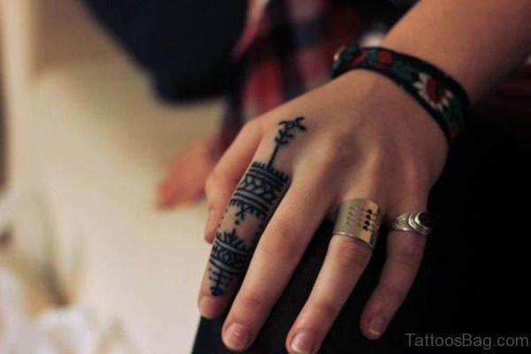 Awesome Geometric Tattoo Design