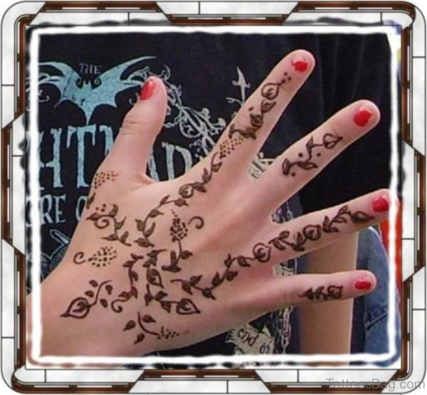 Awesome Henna Tattoo Design