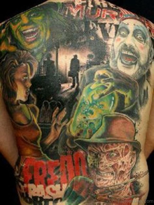 Awesome Horror Tattoo