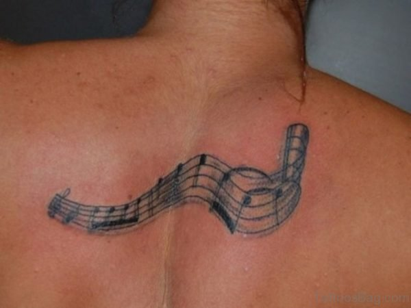 Awesome Music Note Tattoo