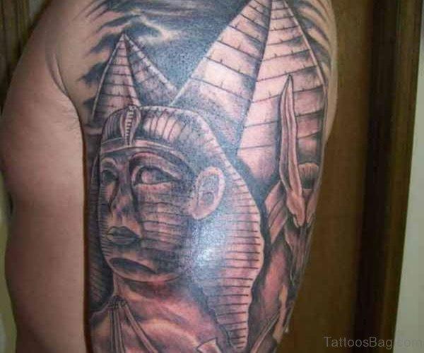 Awesome Pharaoh Tattoo