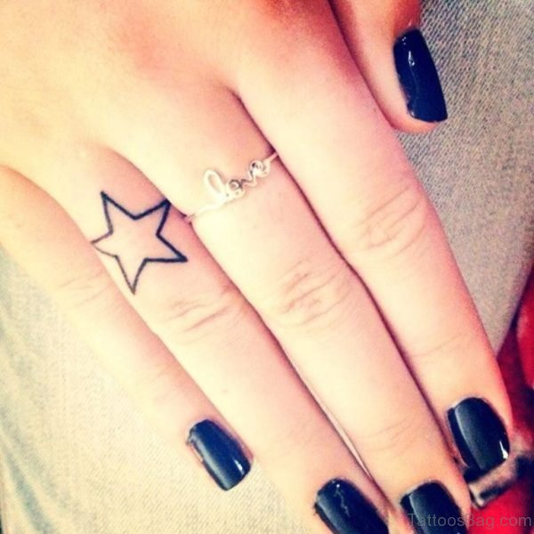 Awesome Star Tattoo