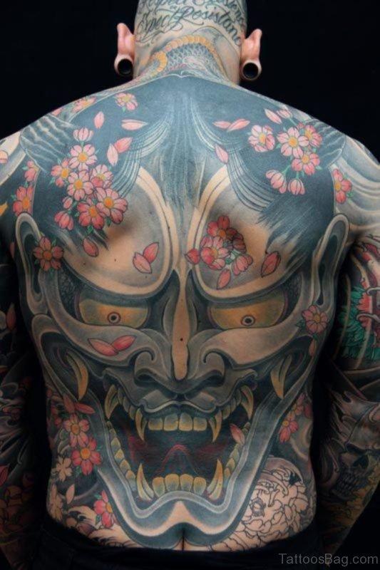 Awesome Mask Tattoo