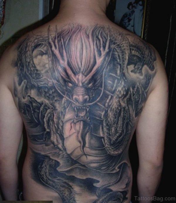 Dragon Tattoo  On Back