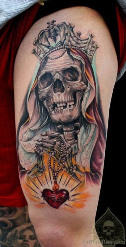Awful Skull Tattoo
