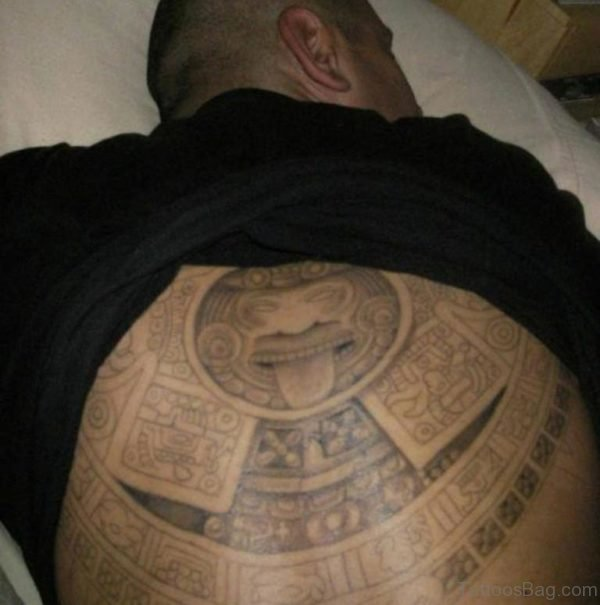 Amazing Aztec Tattoo