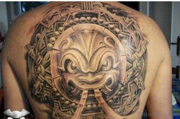 Aztec Tattoo Back
