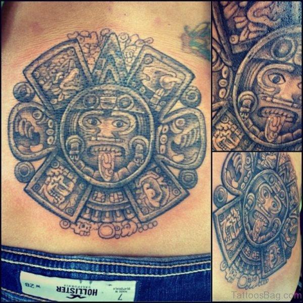 Aztec Tattoo Design