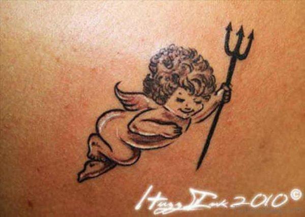 Baby Memorial Angel Tattoo