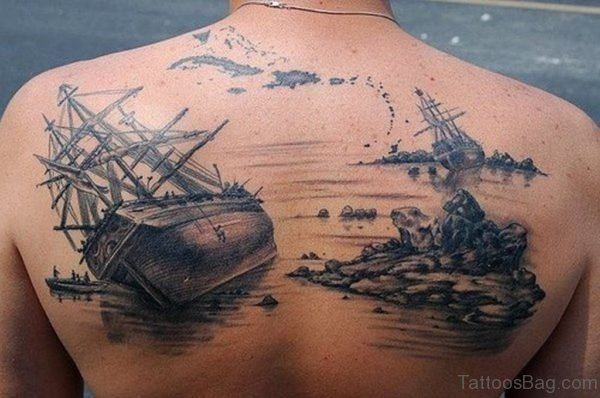 Back Ship Tattoo