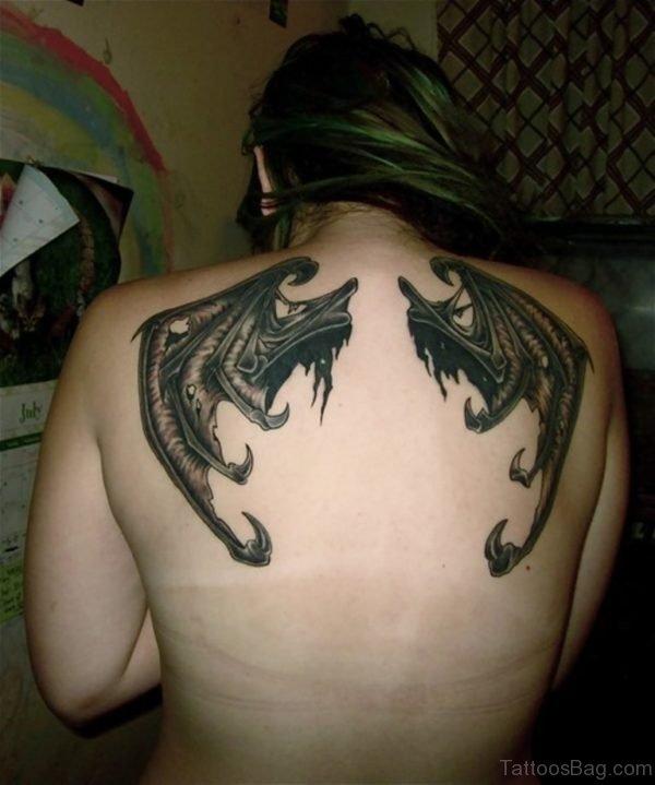Bat Wings Tattoo-BT113TB113