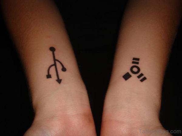 Beautiful Aries Tattoo On Wrist