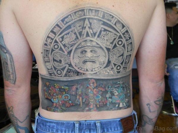 Beautiful Aztec Tattoo
