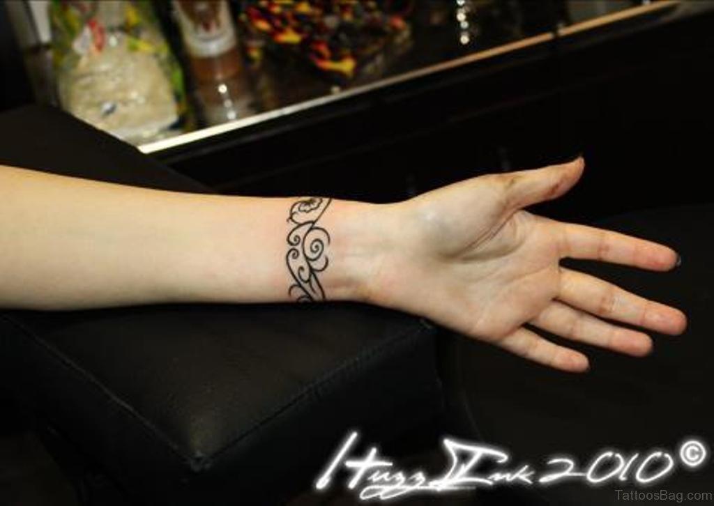 1e4ff1aaf 46 Amusing Arm Band Tattoos On Wrist