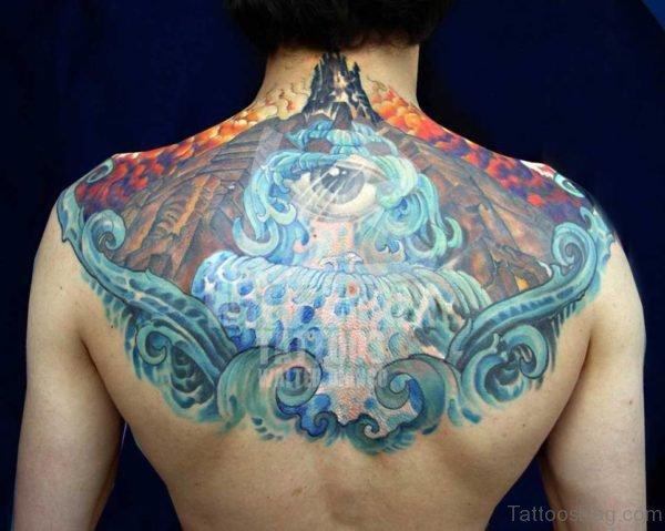 Beautiful Biomechanical Tattoo Design