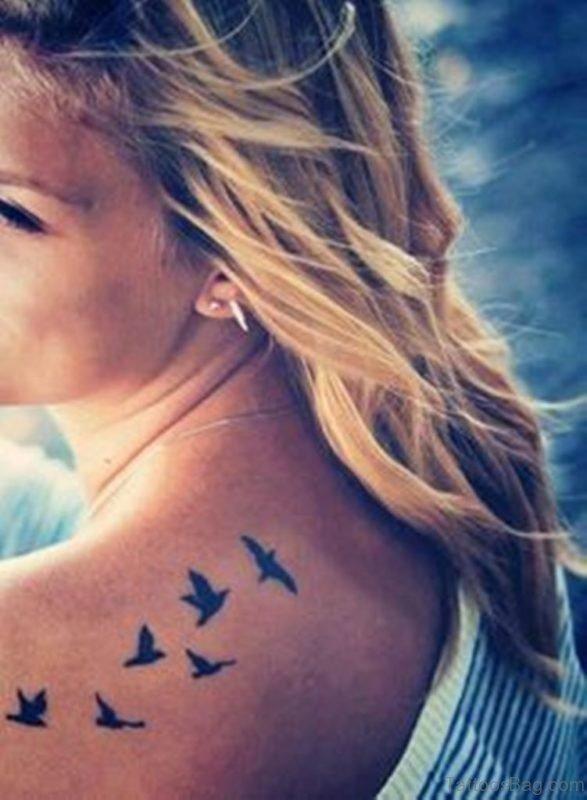 Beautiful Birds Tattoo-TB1013