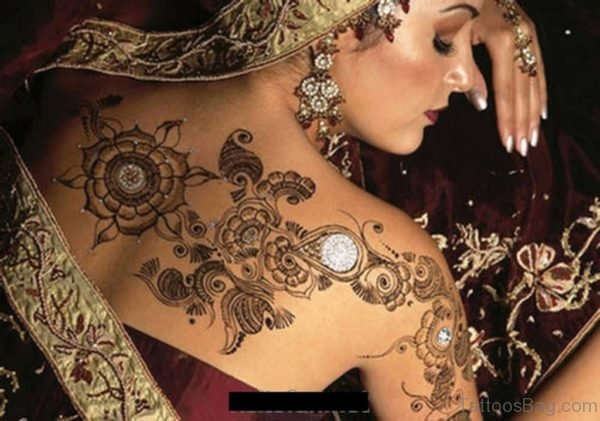 Beautiful Bridal Henna Design