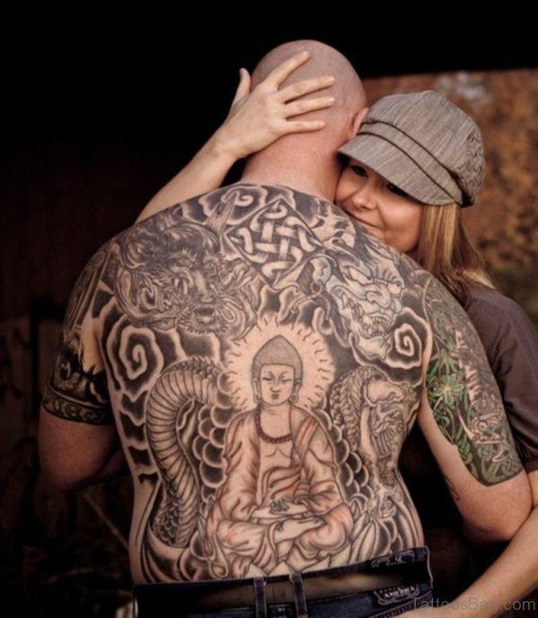 Beautiful Buddhist Tattoo