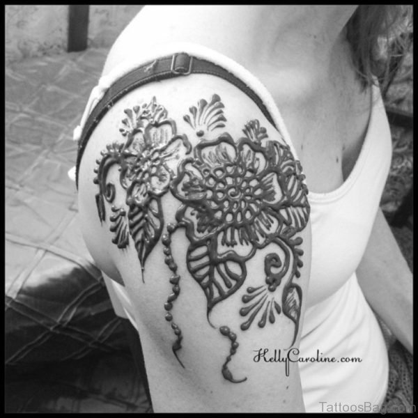 Beautiful Designer Henna Tattoo