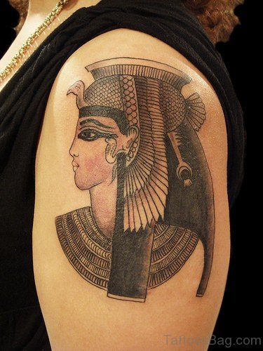 Beautiful Egyptian Queen Tattoo
