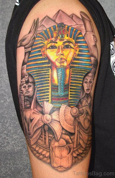 Beautiful Egyptian Tattoo