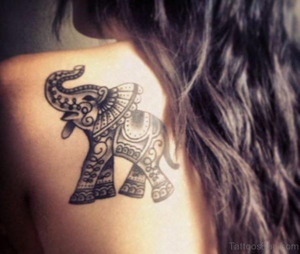 Beautiful Elephant Tattoo