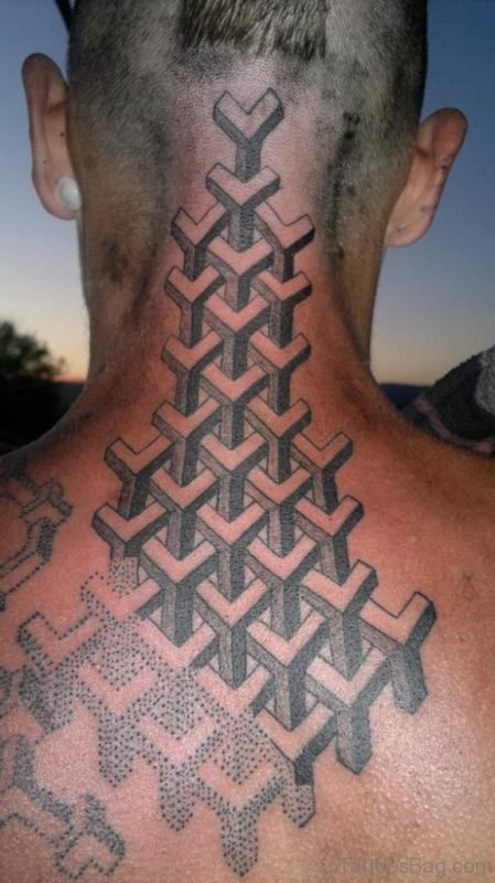 Beautiful Geometric Tattoo