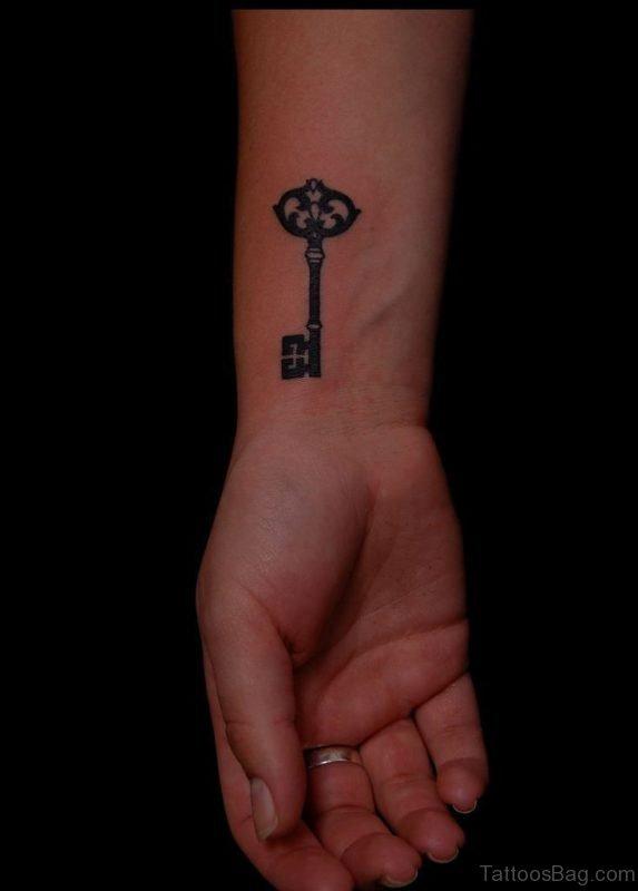 Beautiful Key Tattoo