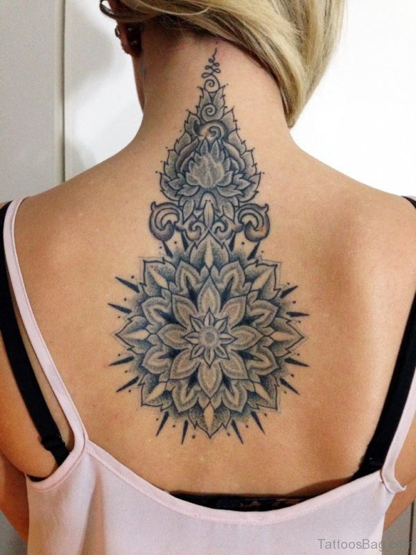 Beautiful  Mandala Tattoo