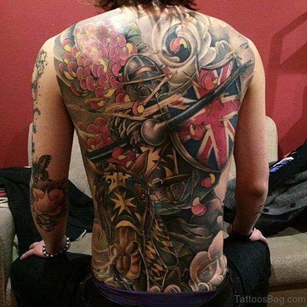 Beautiful Patriotic Tattoo