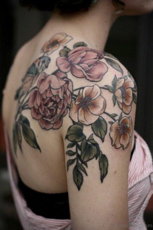 Beautiful Rose Designer Tattoo