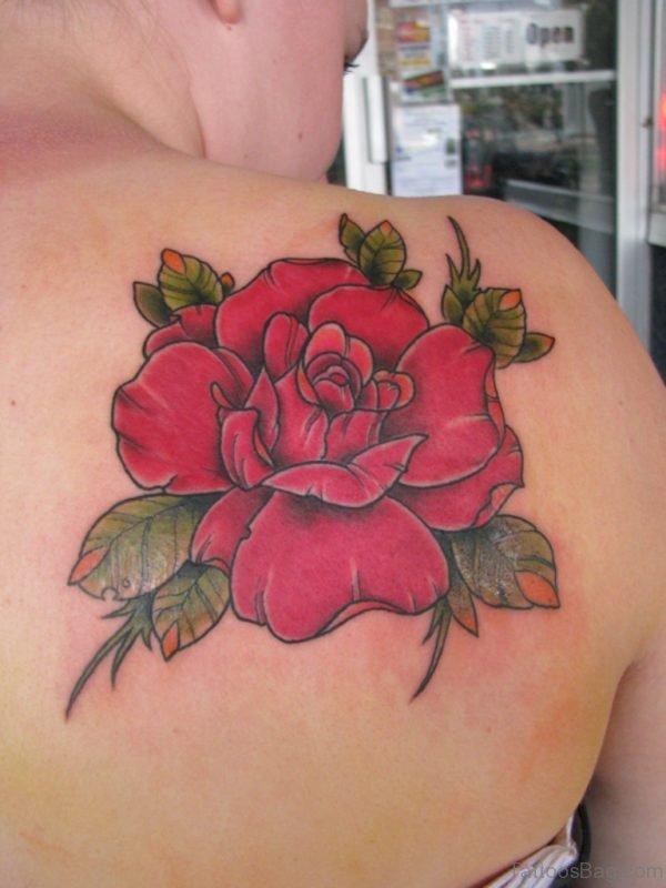 Beautiful Rose Flower Tattoo