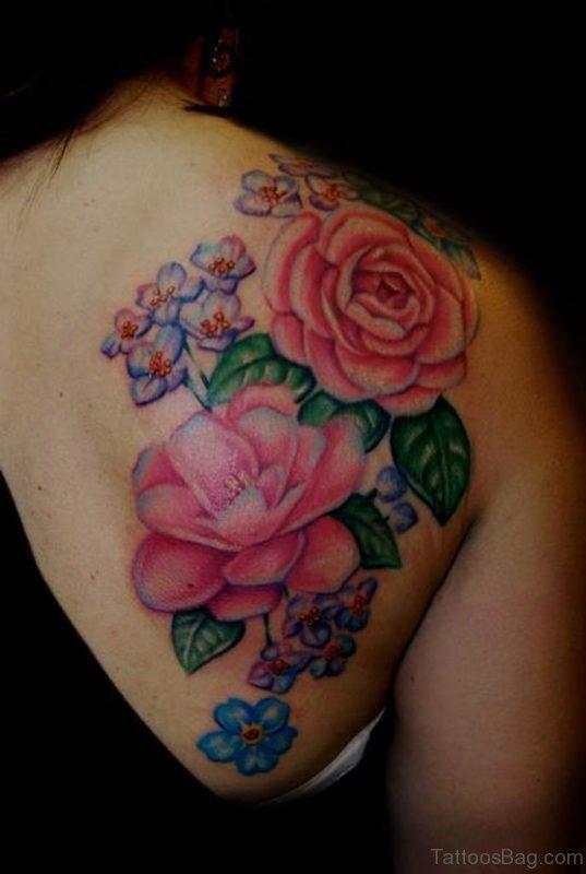 Beautiful Rose Tattoo