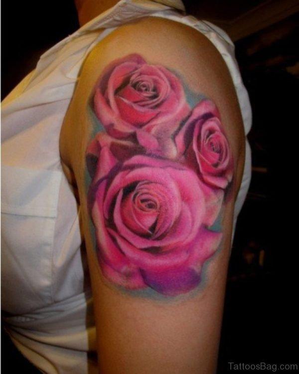 Beautiful Roses Tattoo Design