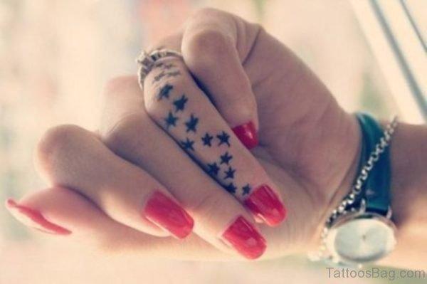 Beautiful Stars Tattoo