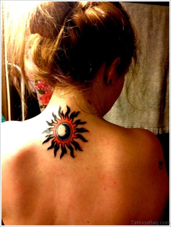 Beautiful Sun Tattoo