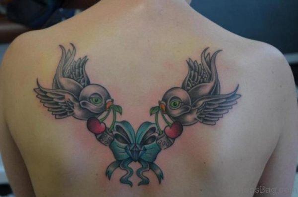 Beautiful Swallow Tattoo