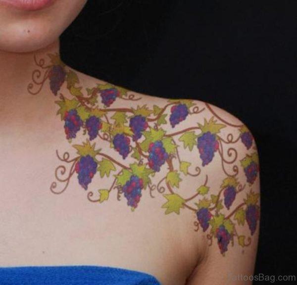 Beautiful Vine Tattoo