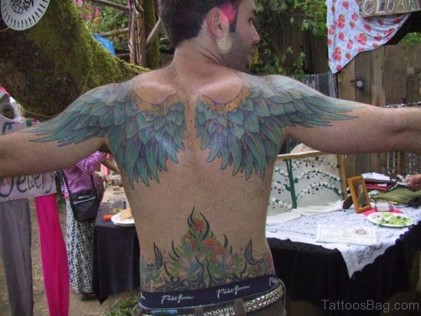 Beautiful Wings Tattoo-BT115TB115