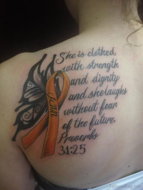 Bible Verses Tattoo On Back
