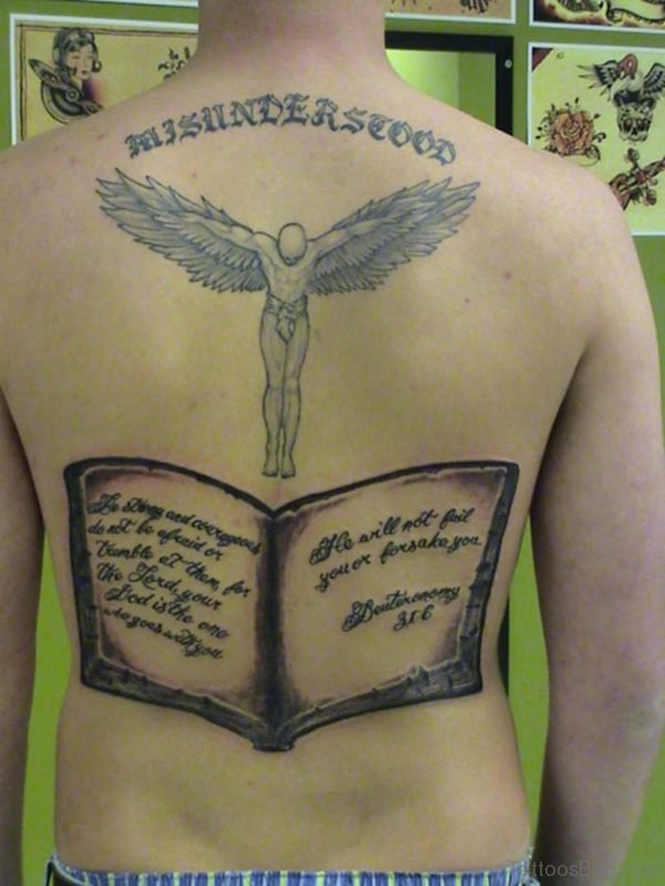 Bible Verses Tattoo On Lower Back