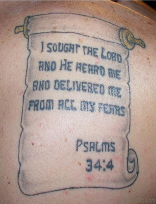 Bible Verses Tattoo Photo