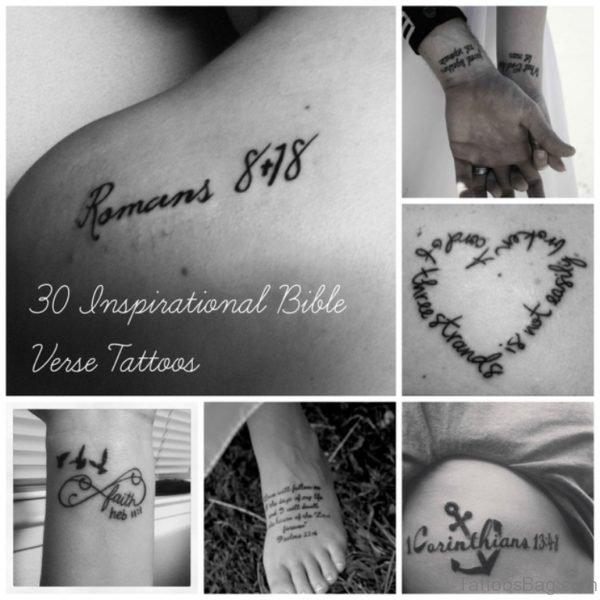 Bible Verses Tattoo Designs